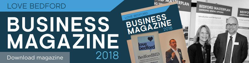 Love Bedford - Business 2018 magazine