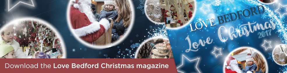 Love Bedford Christmas magazine