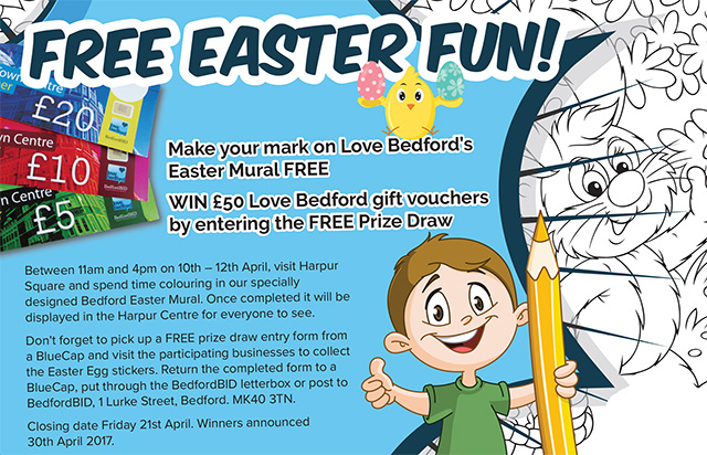 Love Bedford Easter competition