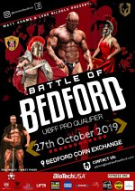 The Battle of Bedford 2019 at Bedford Corn Exchange