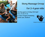 Story Massage Group for 2-4 year olds at Rogan's Books