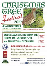 Christmas Tree Festival (4th - 8th December) at St Paul's Church