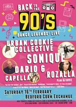 Back To The 90s at Bedford Corn Exchange