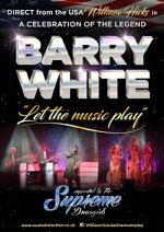 The Legend of Barry White at Bedford Corn Exchange