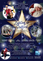 Bedford Christmas Lights Switch on 2018