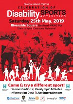 Celebration of Disability Sport and Activity at Riverside Square