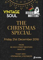 The Christmas Special at Faces Bedford