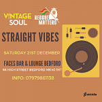 Straight Vibes at Faces Bar & Lounge Bedford