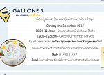 Christmas Workshops at Gallone's Ice Cream Parlour Bedford