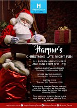 Harpur Centre's Christmas Late Night Fun