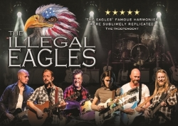 The Illegal Eagles at Bedford Corn Exchange