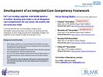 Integrated Care Competency Framework Focus Group At The Higgins Bedford