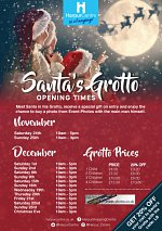Santa's Grotto at the Harpur Centre throughout December