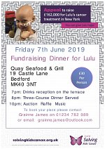 Fundraising Dinner for Lulu at Quay Seafood & Grill