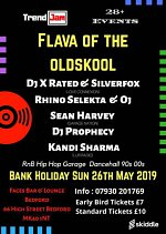 FLAVA OF THE OLDSKOOL at Faces Bar & Lounge