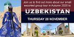 Find out About Uzbekistan, the Jewel of the Silk Road at Select Travel Holidays