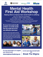 Mental Health & First Aid Workshop at Bedford Library