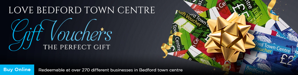 Buy Love Bedford Town Centre Gift Vouchers